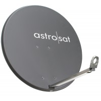 Astro Parabolantenne AST 850 einfach - Farbe rot