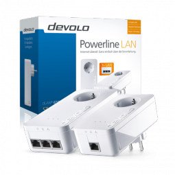 dLAN 650 triple+ Starter Kit Powerline