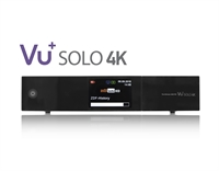 VU+ Solo 4K 2x DVB-S2 FBC / 1x DVB-S2 Tuner PVR Ready Twin Linux Receiver UHD 2160p